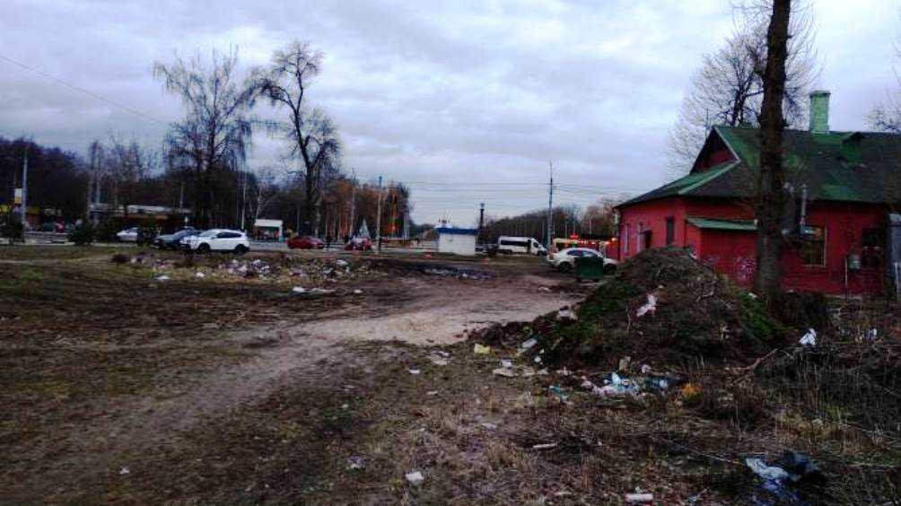 Жителей Брянска возмутила свалка возле Кургана Бессмертия