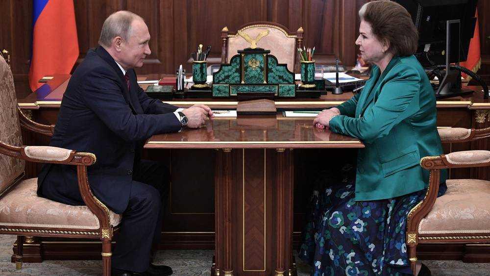 Брянский Герой Советского Союза Кашин вступился за Валентину Терешкову