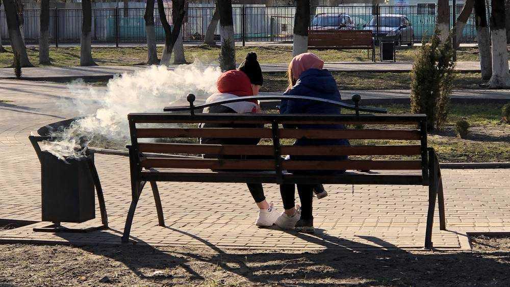 Холодный сезон 2020 года в парках Брянска открыли вейперы