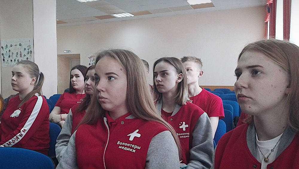 В Брянске организовали штаб волонтеров-медиков
