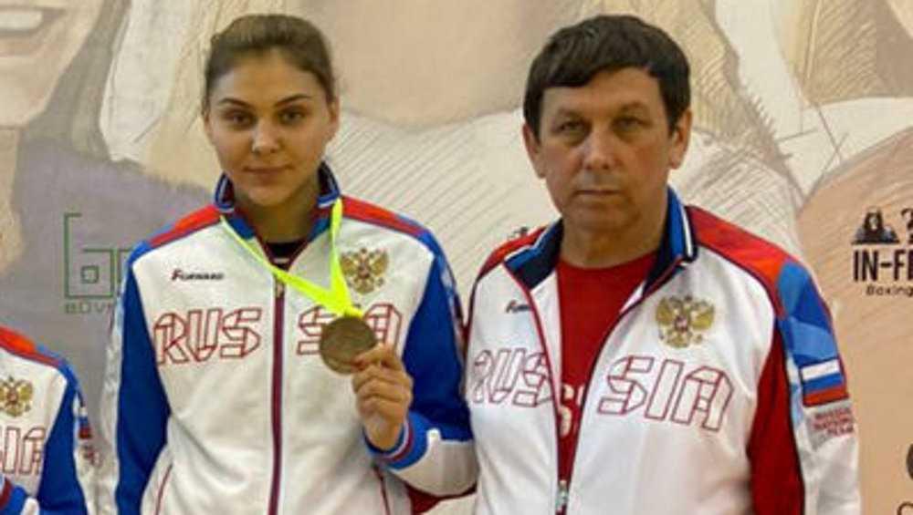 Лучший боксер Брянской области Елена Жиляева заняла третье место в Риге