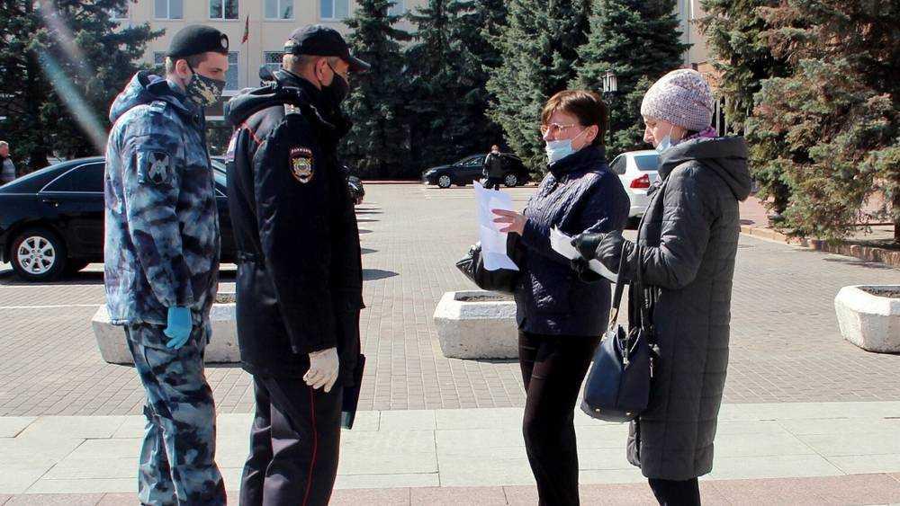 В Брянске за сутки наказали 224 нарушителя режима самоизоляции