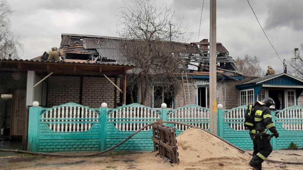 В Брянске при пожаре на Коммунистической погибли мужчина и женщина