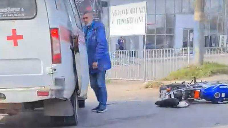 В Брянске на Литейной улице в ДТП разбился мотоциклист
