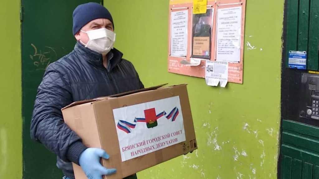 Брянские депутаты от «Единой России» доставляют наборы первой необходимости нуждающимся