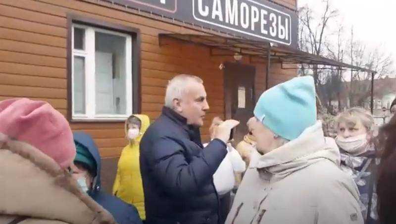В Брянске на Бежицком рынке подстрекатели накалили страсти