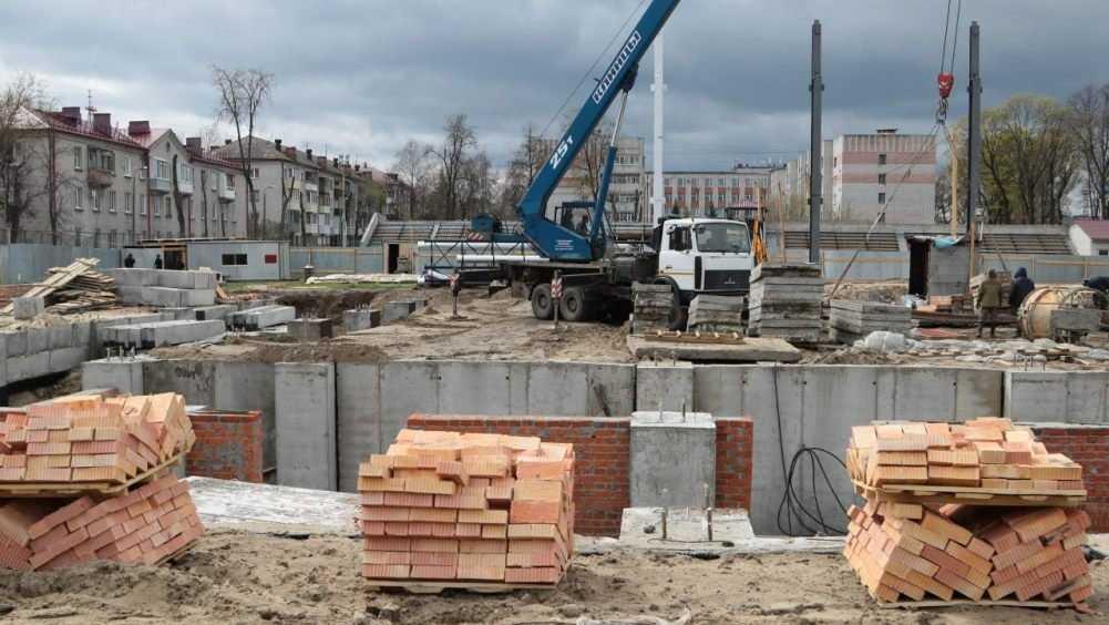 В Фокинском районе Брянска возобновили строительство бассейна