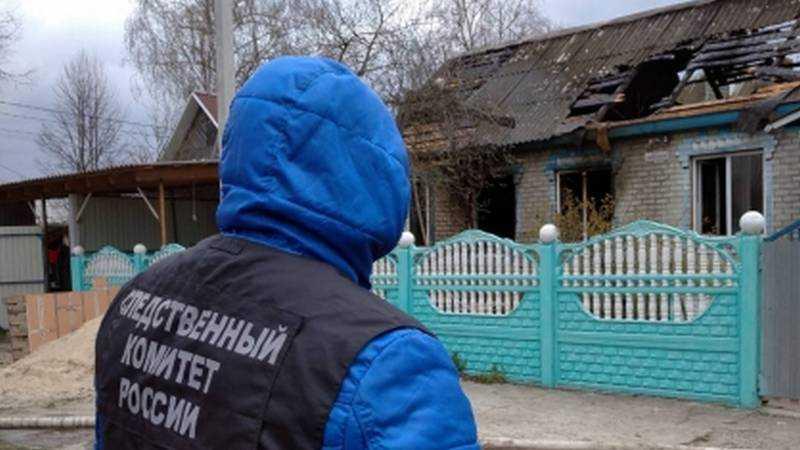 В Брянске возбуждено уголовное дело по факту гибели супругов на пожаре