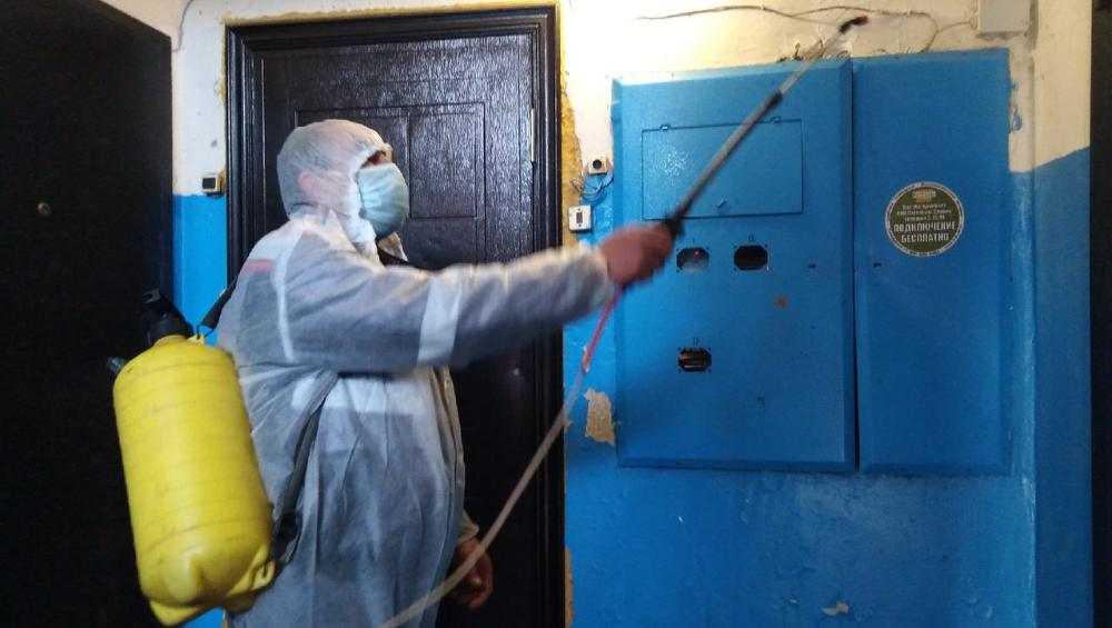 В Брянской области продезинфицировали около 7 тысяч многоэтажек