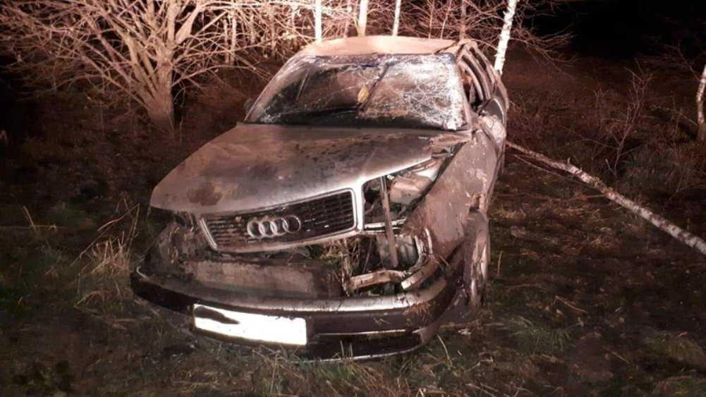 Под Карачевом перевернулась иномарка – пострадал 31-летний водитель