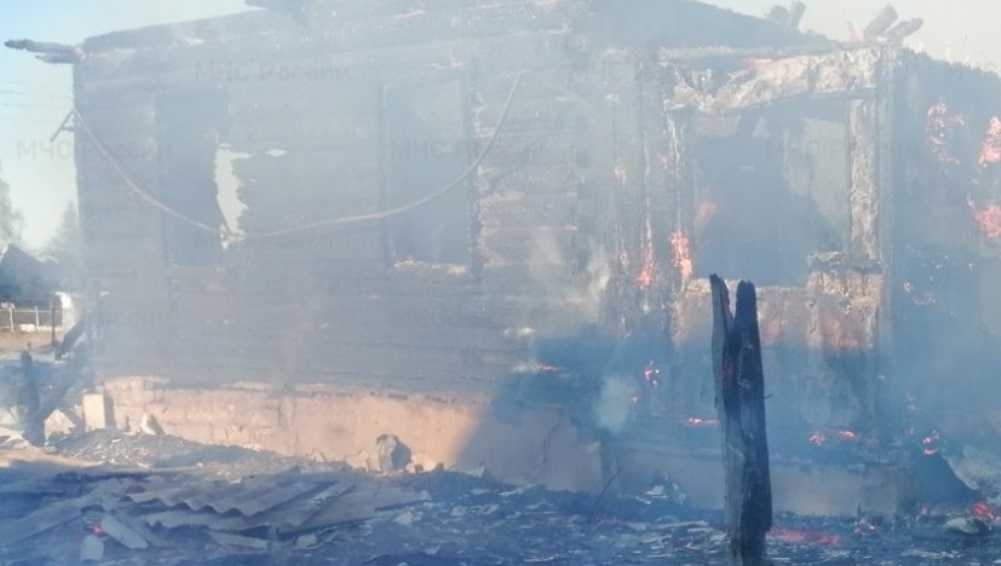 В Дятьковском районе Брянской области при пожаре погиб мужчина