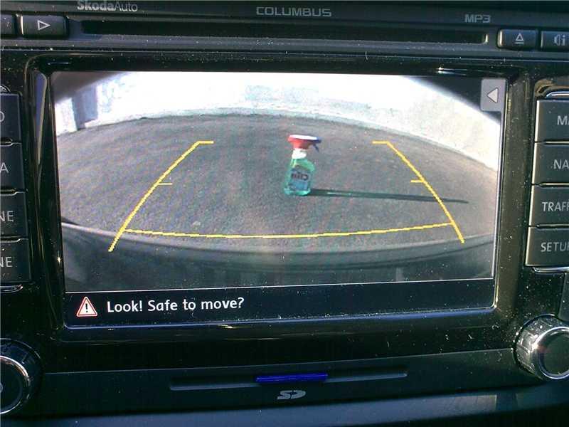 Как разобрать камеру заднего вида