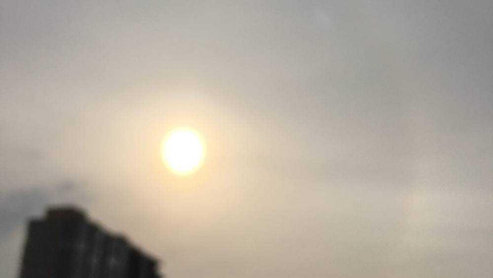В Брянске сфотографировали солнечное гало