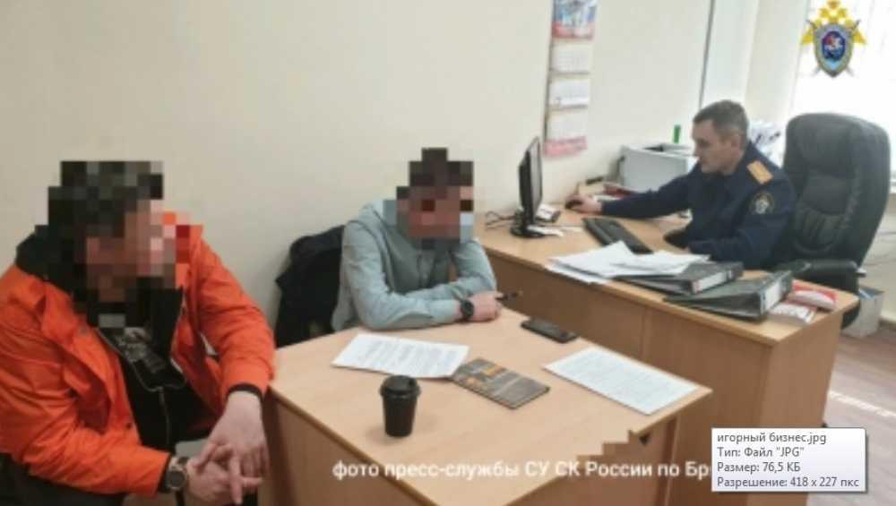 В Брянске задержали семерых владельцев подпольного интернет-казино