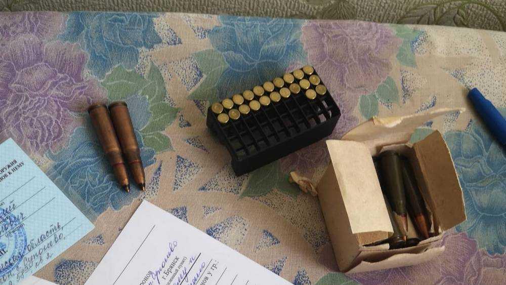 У жителя Брянской области нашли 40 боеприпасов