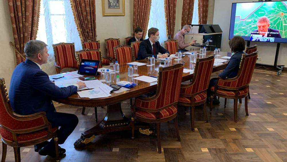 Игорь Маковский обсудил с брянским губернатором работу электросетевого комплекса в условиях угрозы эпидемии