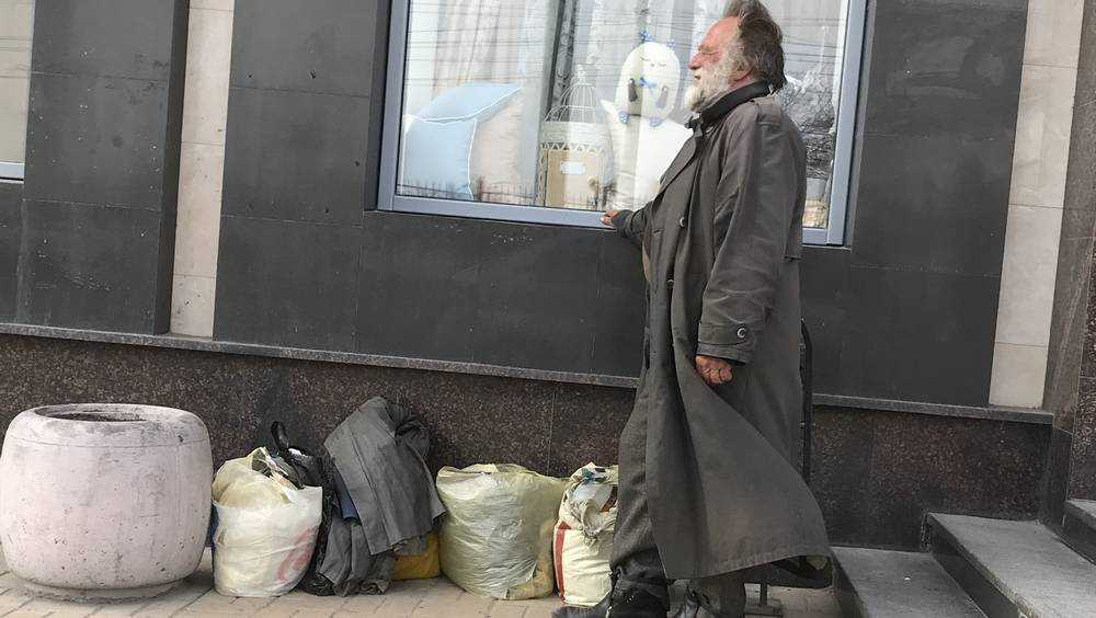 Брянцев поблагодарили за помощь бездомному