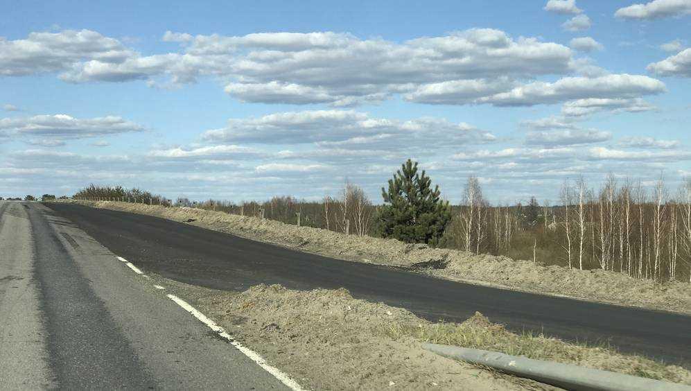 Под Брянском начали ремонт большой развязки на объездной дороге