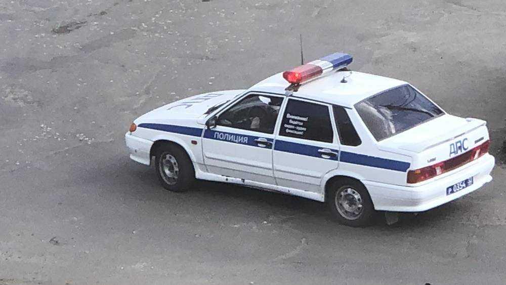 Полиция на улицах через громкоговорители обратилась к жителям Брянска