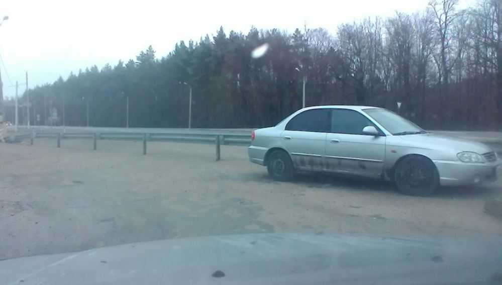 В Туле начали розыск владельца автомобиля с брянскими номерами