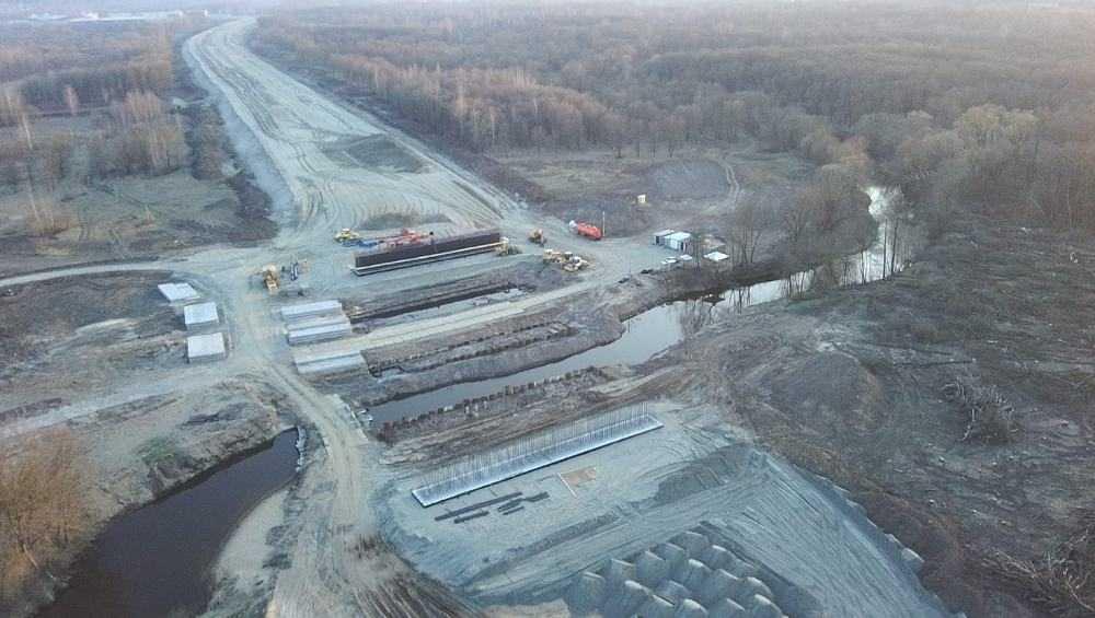 В Брянске возобновили стройку новой дороги через Снежеть