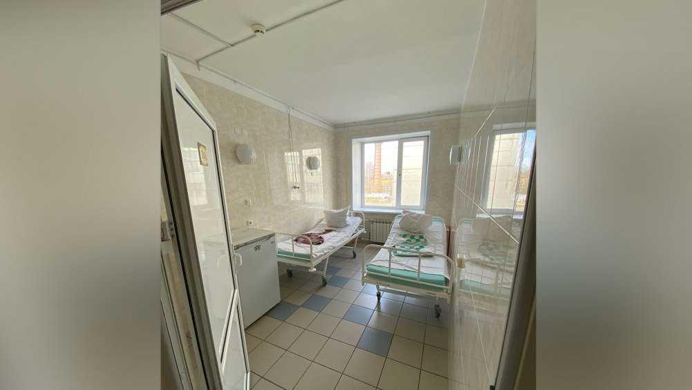 В коронавирусных госпиталях Брянской области заняли 1343 мест из 1865