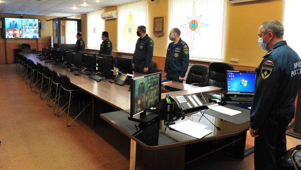 В Брянске провели онлайн-панихиду по погибшим сотрудникам МЧС
