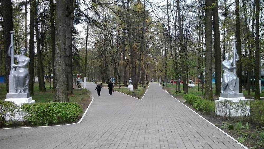В Локте для усмирения рвущихся на прогулку мамаш заварили лазейки в парке