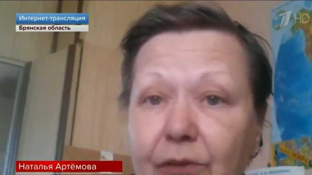 Брянская пенсионерка на Первом канале поблагодарила детей-волонтёров