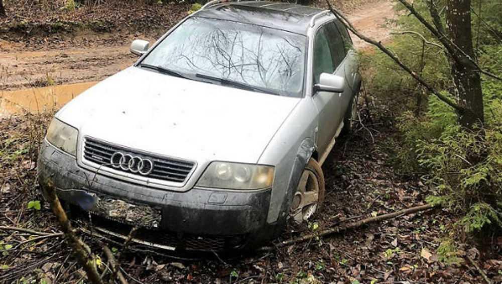Под Выгоничами пьяный водитель устроил в лесу гонки с полицией