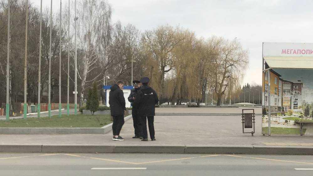 Брянская полиция составила 10 протоколов на нарушителей самоизоляции