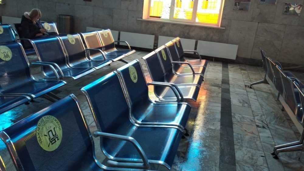 На железнодорожном вокзале Брянск-Орловский проведена полная дезинфекция