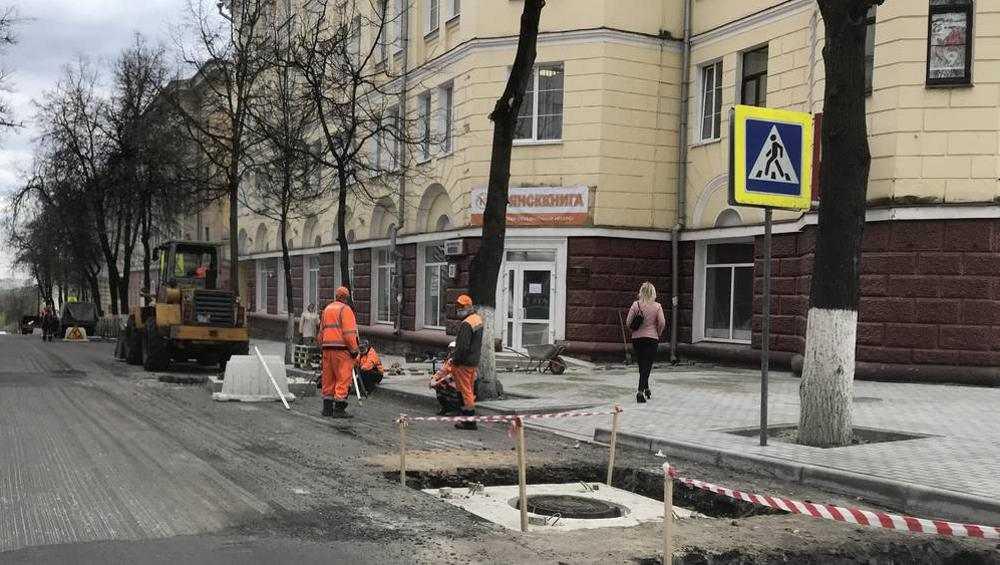 Улицу Фокина в Брянске пообещали отремонтировать уже к июлю