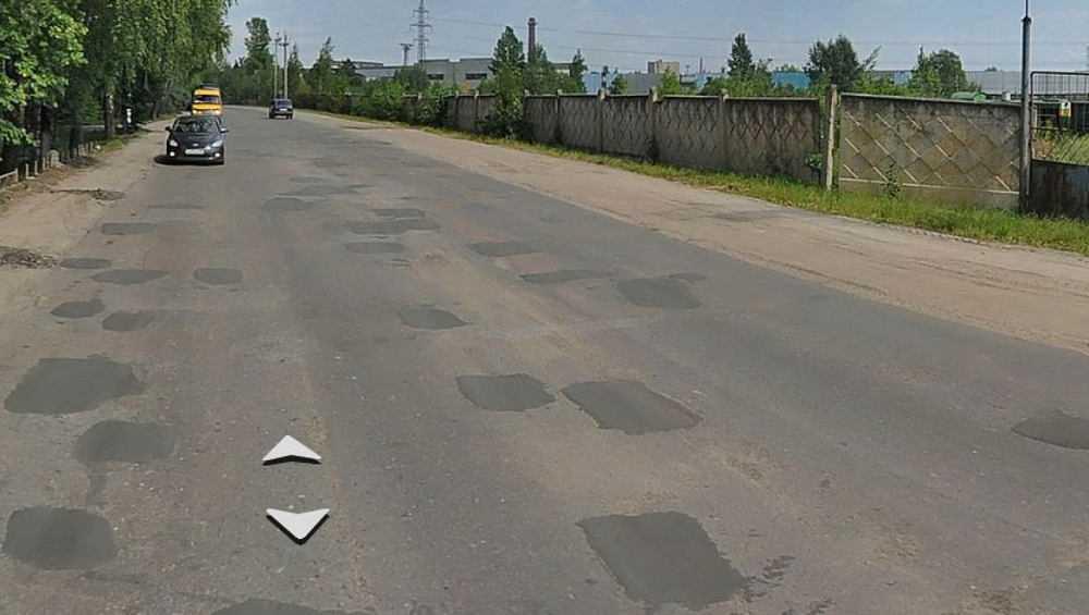 В Брянске с понедельника начнут снимать старый асфальт на Шоссейной
