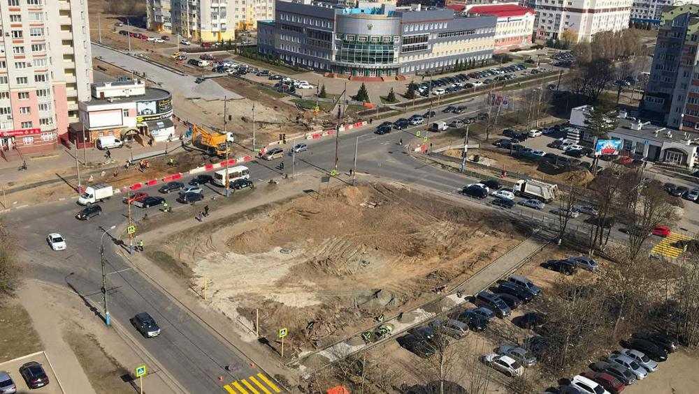 Новую дорогу по улице Советской в Брянске сдадут уже в этом году