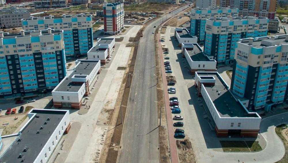В Брянске на Советской улице дорогу построили на 60 процентов