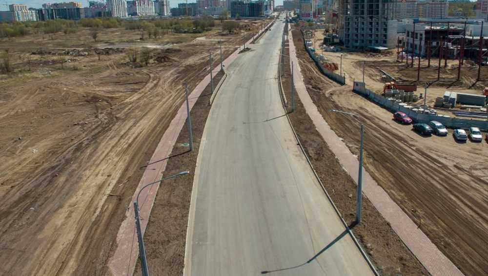 Строящаяся дорога по улице Советской закончена на 60 процентов