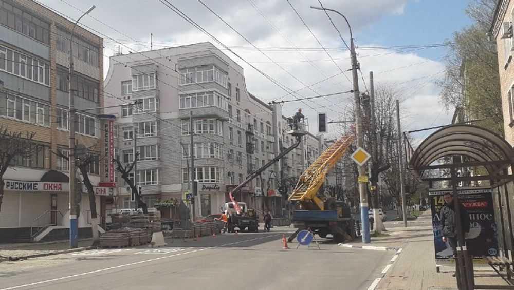 В Брянске на пересечении улиц Фокина и Октябрьской появится светофор