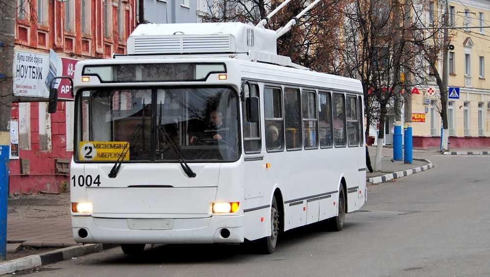 Завтра в Брянске все 70 троллейбусы снова выйдут на линию