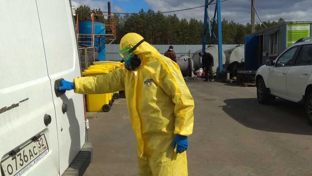 В Брянске установка для утилизации пригодилась в борьбе с коронавирусом
