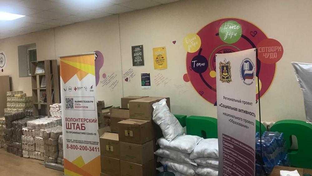 Волонтеры в Брянске за день приняли 500 заявок от жителей города