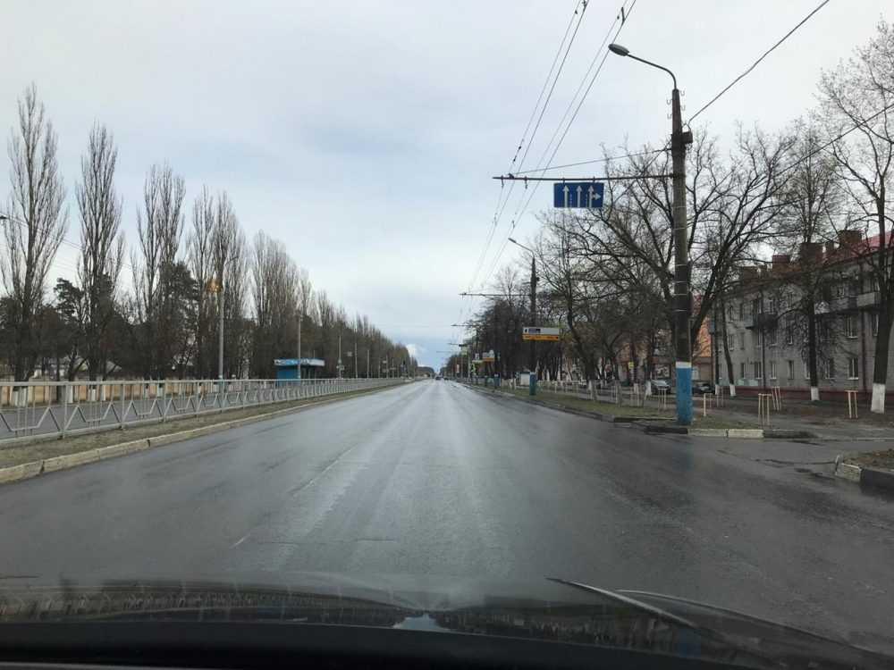 Брянск стал совершенно безлюдным