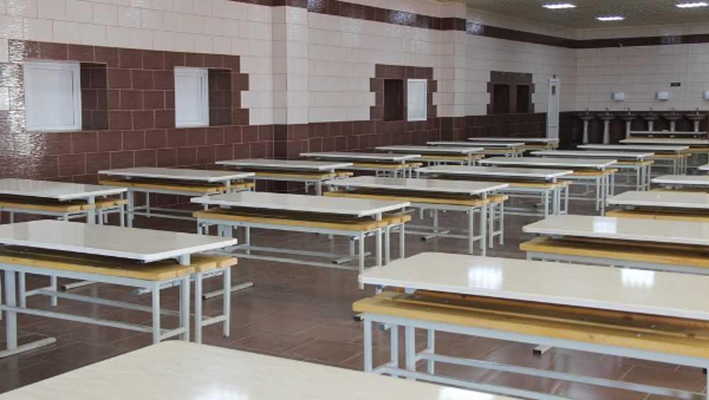 В стародубской колонии осужденных порадовали новым обеденным залом