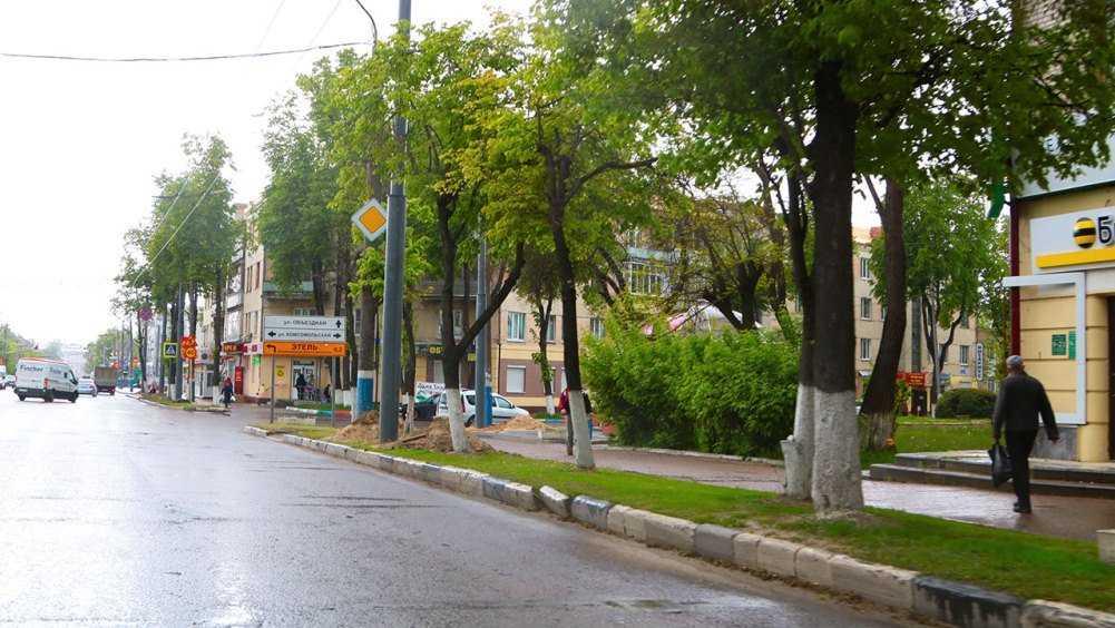 В Брянске начали ремонтировать дорогу на улице III Интернационала