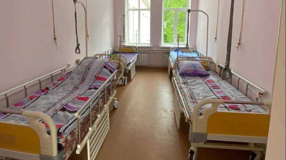 Госпиталь в Унече для больных коронавирусом подготовили за 2 недели