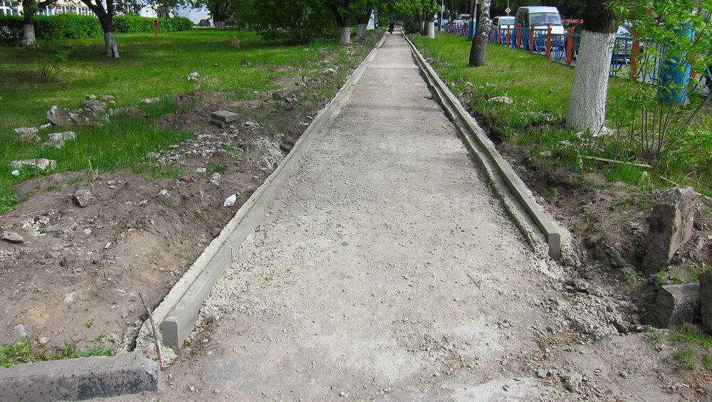 В Брянске продолжили благоустройство улиц Литейной и Бежицкой