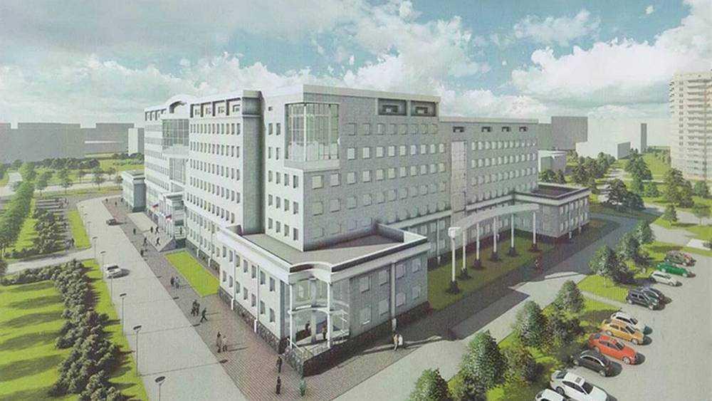 В Брянске на Советской начали строить здание УМВД