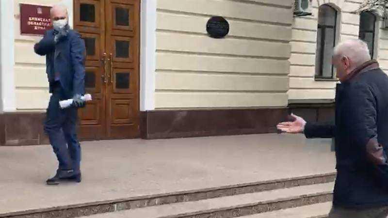 Заместитель брянского губернатора Коробко назвал Коломейцева трусом