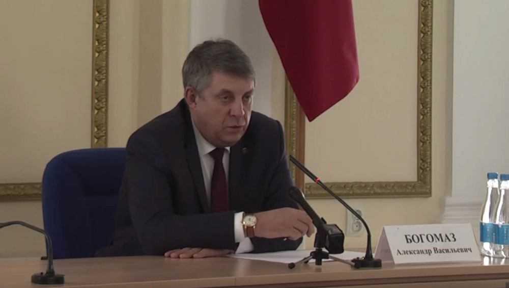 Брянский губернатор Богомаз: «Мы не «доим землю»
