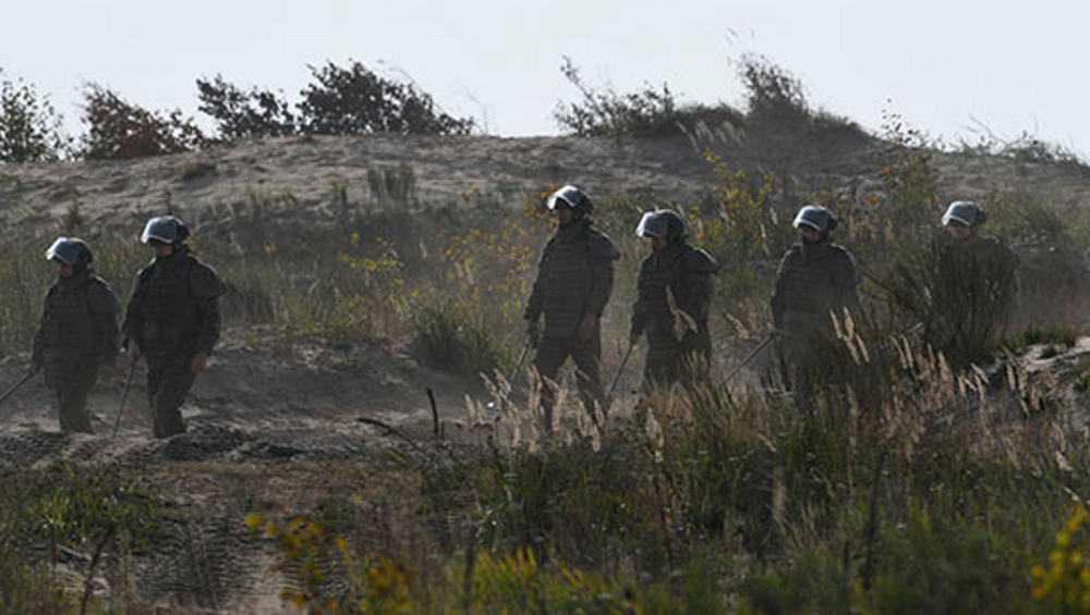 В Брянской области военные снесли несколько зданий